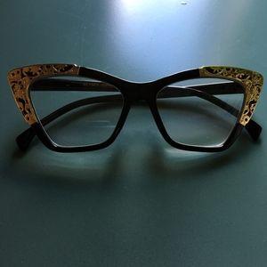 Betsy Johnson Retro Cat Eye Reading Glasses