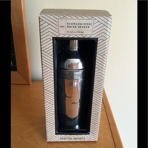 Accessories - Crafted imports stainless steel drink shaker