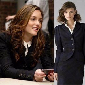 Diane Von Furstenberg Bette jacket 8 Blair Waldorf