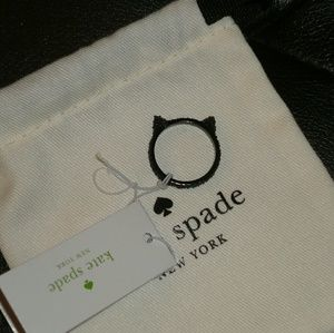 Kate spade cat ring new 8