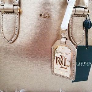 4621bb0d00 Ralph Lauren Bags - Ralph Lauren Gold Rush Dome Tote