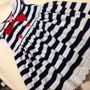Other - Adorable classic little girl sailor dress