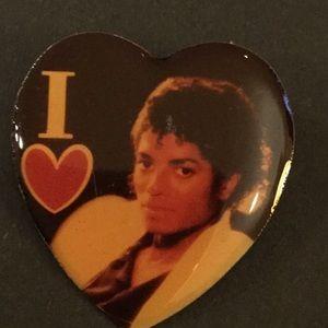 I ❤️ Michael Jackson Pin