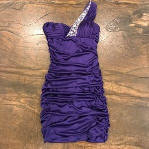Adrianna Papell Royal Purple Dress