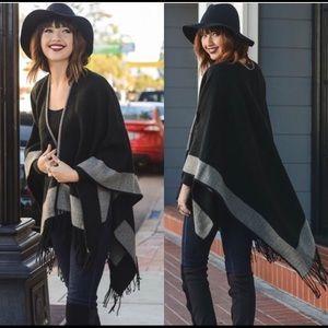 Jackets & Blazers - Black Wrap