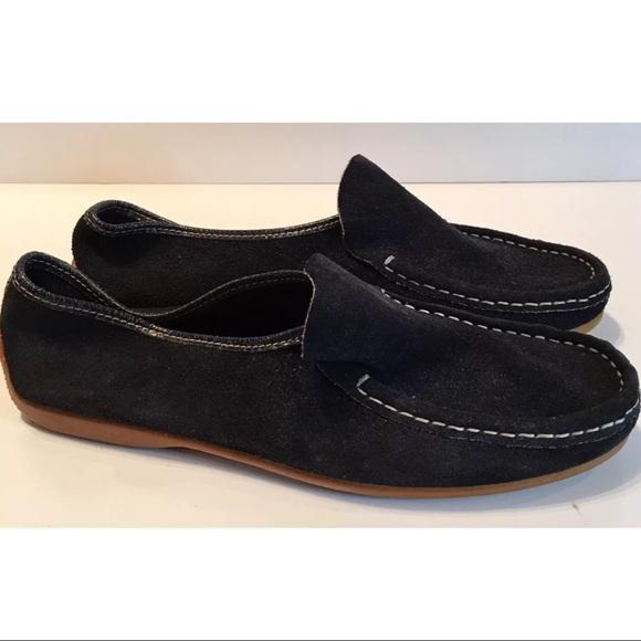 9500950253e Bernardo Shoes - Bernardo Navy Blue Suede Loafer Sz 8 Made In Italy