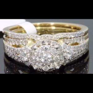 Jewelry - 🎉💍💎Genuine Diamond Ring Set.