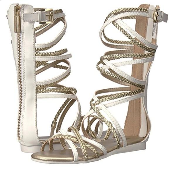 141c1b2c70 Michael Kors Shoes | 39 Girl Gladiator Sandal Sz 3 | Poshmark