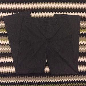 Charcoal gray pants. Zara Basic.