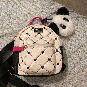 Betsey Johnson mini backpack