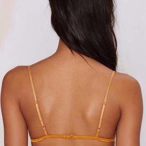 9b7fb3b866a6a Nasty Gal Intimates   Sleepwear - Nasty Gal Lilah Lace Marigold Orange Bralette  Bra