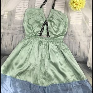 Chloe 100% silk cocktail dress size 2