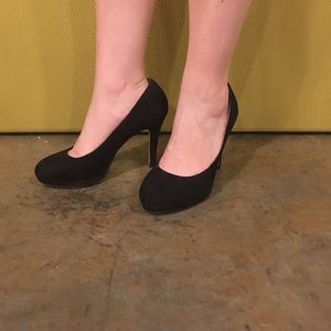 H&M 4 inch Heels Black