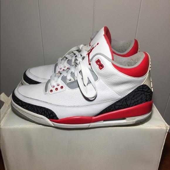"3c10930a4148a6 Jordan Other - AIR JORDAN 3 RETRO"" FIRE RED"""