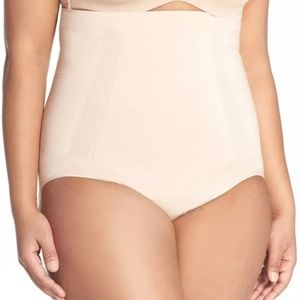 SPANX HIGH WAIST SHAPING BRIEFS NUDE SMALL NWT