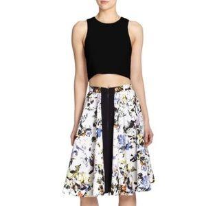 NWT Elizabeth and James 'Belle' Print Skirt
