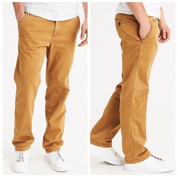 8d97c64d95b American Eagle Outfitters Other - AEO Extreme Flex Relaxed Straight Chino