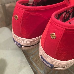 c31eace1ce55 kate spade Shoes - ✨Kate Spade For Keds Red Velvet Slip On Sneakers✨