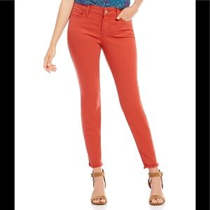 Ana Forever Red Skinny zipped ankle size 8P-NWT