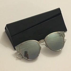 Brand New Dior Sculpt Cat Eye Sunglasses