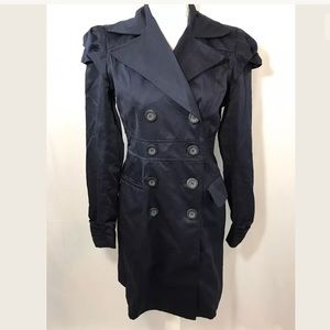 Navy Blue Kut From the Kloth trench style jacket