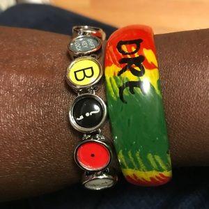 Jewelry - NEW! Typewriter key style clasp bracelet