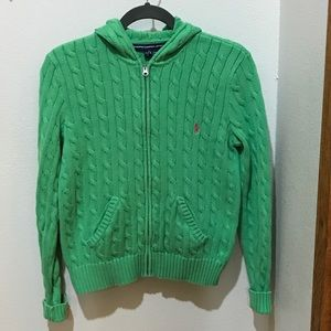 Ralph Lauren Sport Cable Cardigan