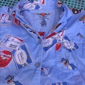 PJ Salvage nightgown shirt so cute Kawaii