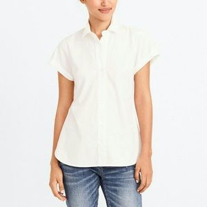 J. Crew Factory Short-Sleeve Popover Shirt/Tunic