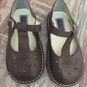 Lamour toddler shoes size 10 adorable brown