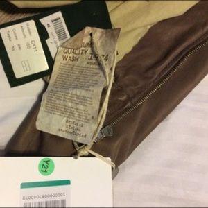 Delan Jackets & Coats - Delan Caramel Leather Bomber