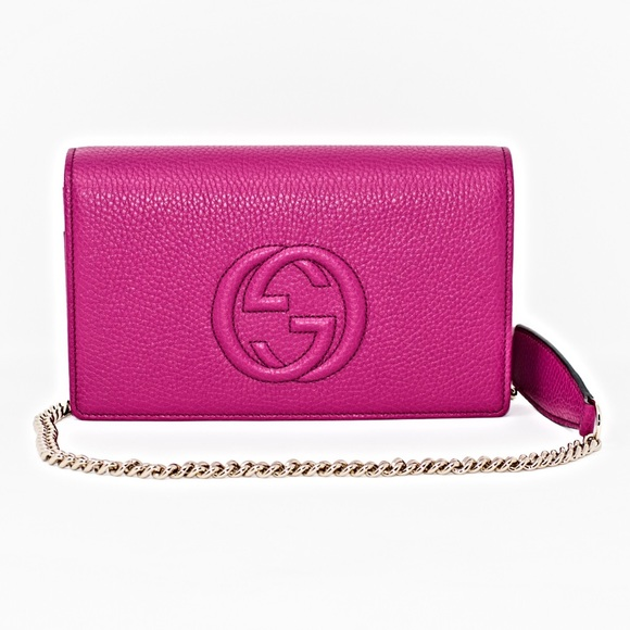 gucci bags new. new gucci soho leather chain cross-body bag gucci bags new