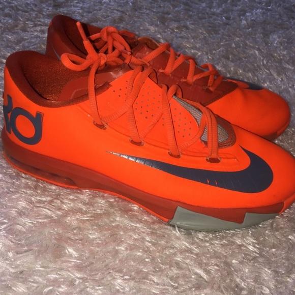 kd orange shoes Kevin Durant Shoes