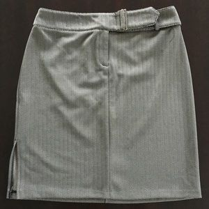 Express Skirts - Express Womens Multi-Color Belted Skirt, size 5/6