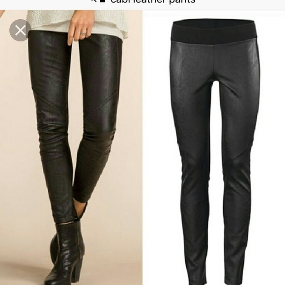 f342733636932 CAbi Pants | Vegan Faux Leather Leggings | Poshmark