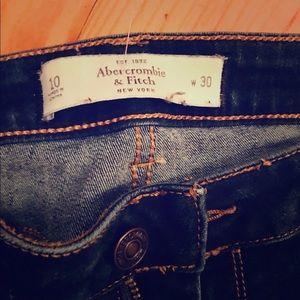 Abercrombie women jeans size 10