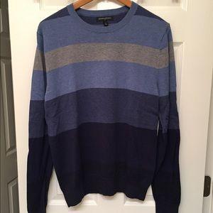 Men's Small Striped Banana Republic Sweater
