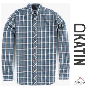 🆕Katin Men's Blue Cedar L/s Shirt