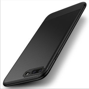 Other - iphone 8 8plus Carbon Fiber Luxury Thin Case Cover