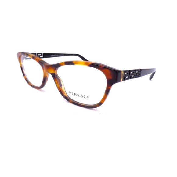 66ce56e019c8 100% Authentic Versace Havana   Black Eyeglasses! M 59e1a8d5522b45579e002500