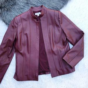 St. John burgundy jacket