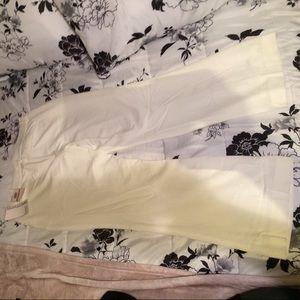Sag Harbor NWT white dress pants. Size 12 Petite