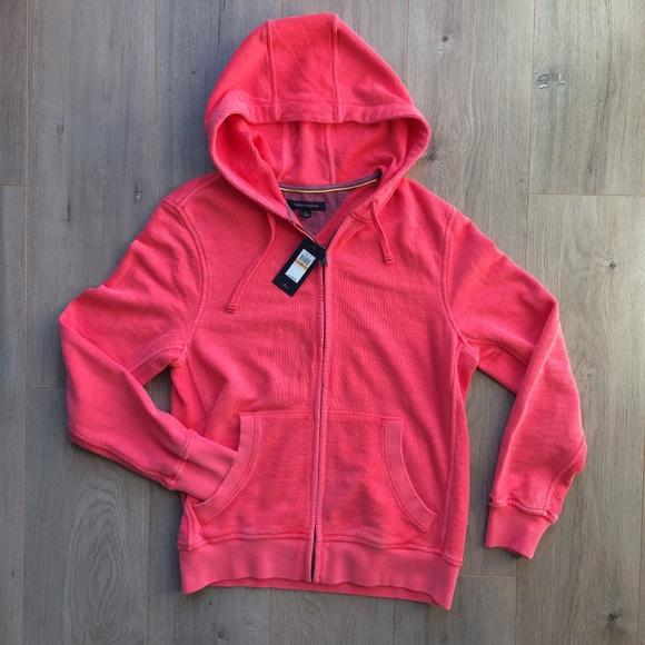 8a65a6892d83e Tommy Hilfiger Jackets & Coats   New Mens Sp Coral Pink Zip Hoodie ...