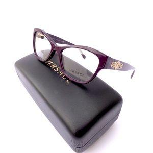 fe31b07abffb Versace Accessories - 100% Authentic Versace Cat Eye Purple Eyeglasses!
