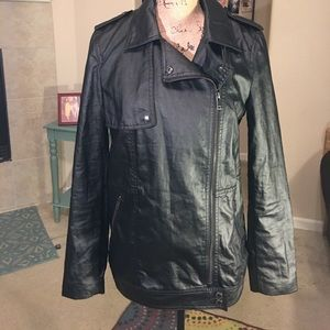 Banana Republic Black Moto Jacket