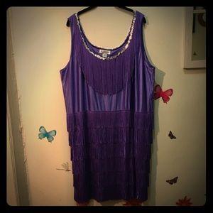 Dresses & Skirts - Fun Purple Flapper