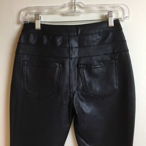 9aef56199a refuge Pants - Refuge faux leather high waist skinny pants
