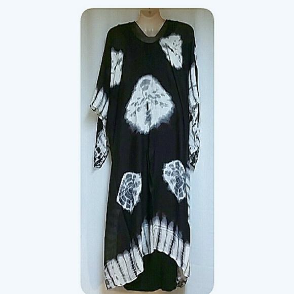 Accessories - Boho Style Tie Dyed Long Kimono NWT's