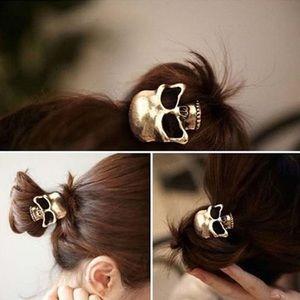 💀 Sale!💀 Skull metal hair tie!