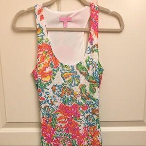 Lilly Pulitzer Astoria Lined Crochet Maxi Dress
